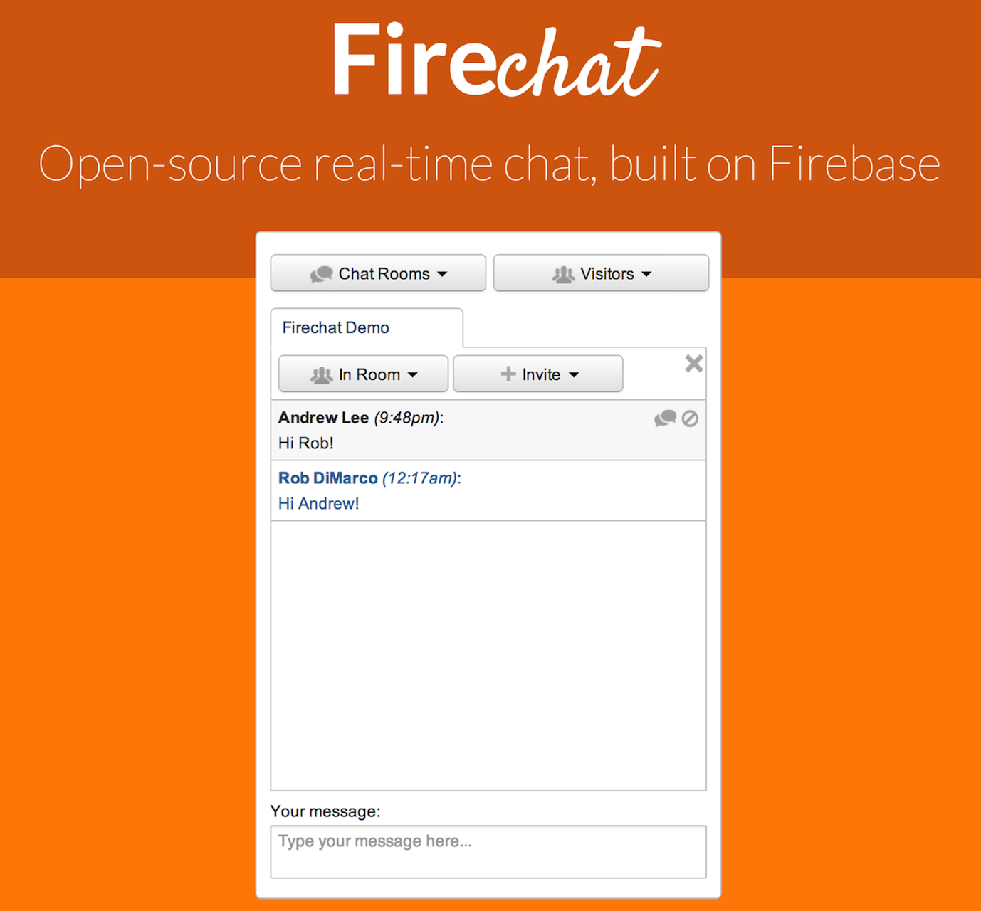 the firebase blog announcing firechat open source real time chat announcing firechat open source real time chat