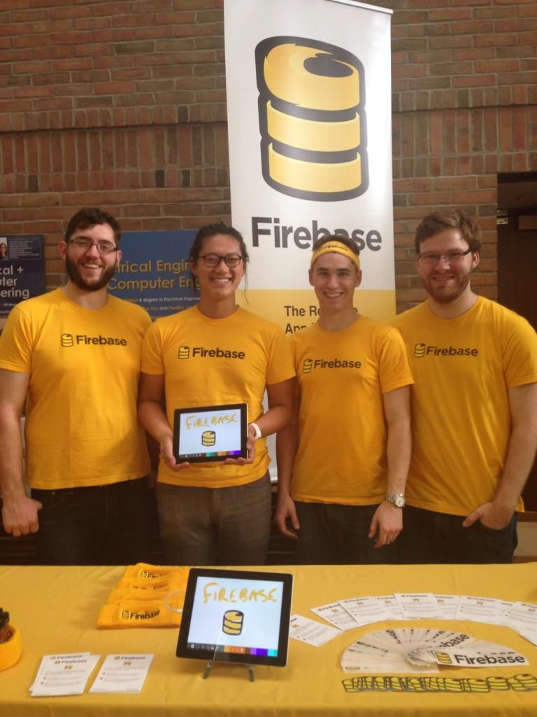 Firebase team at MHacks